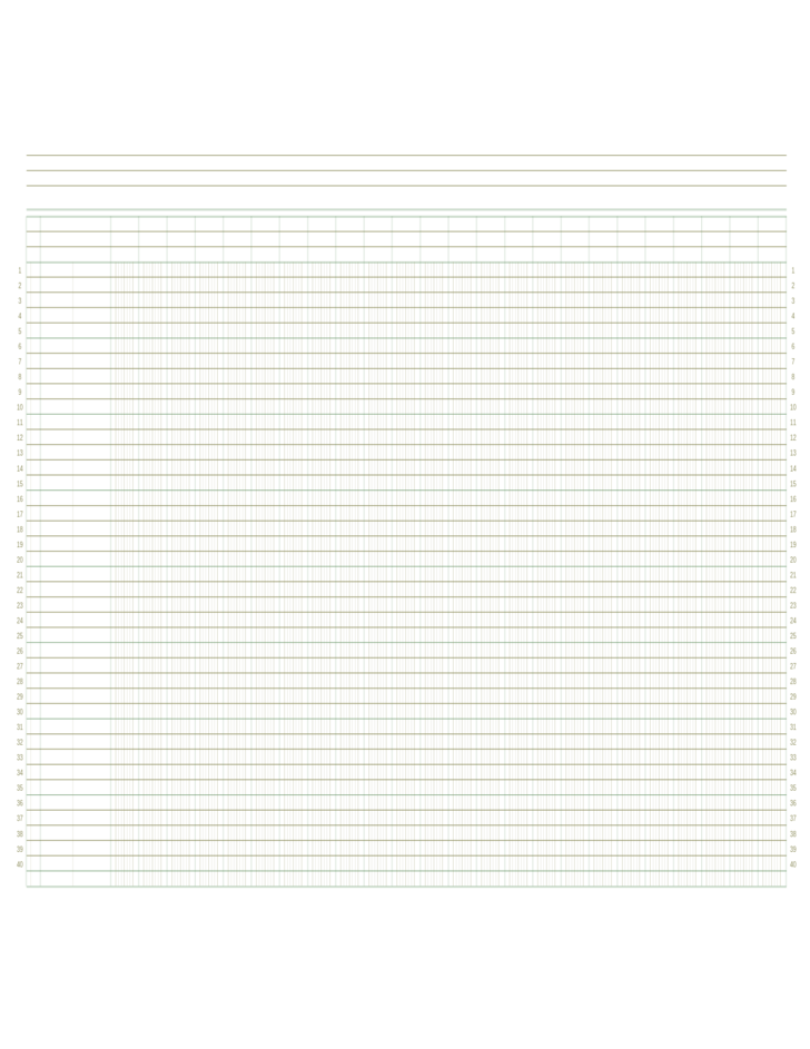 ledger paper template free download
