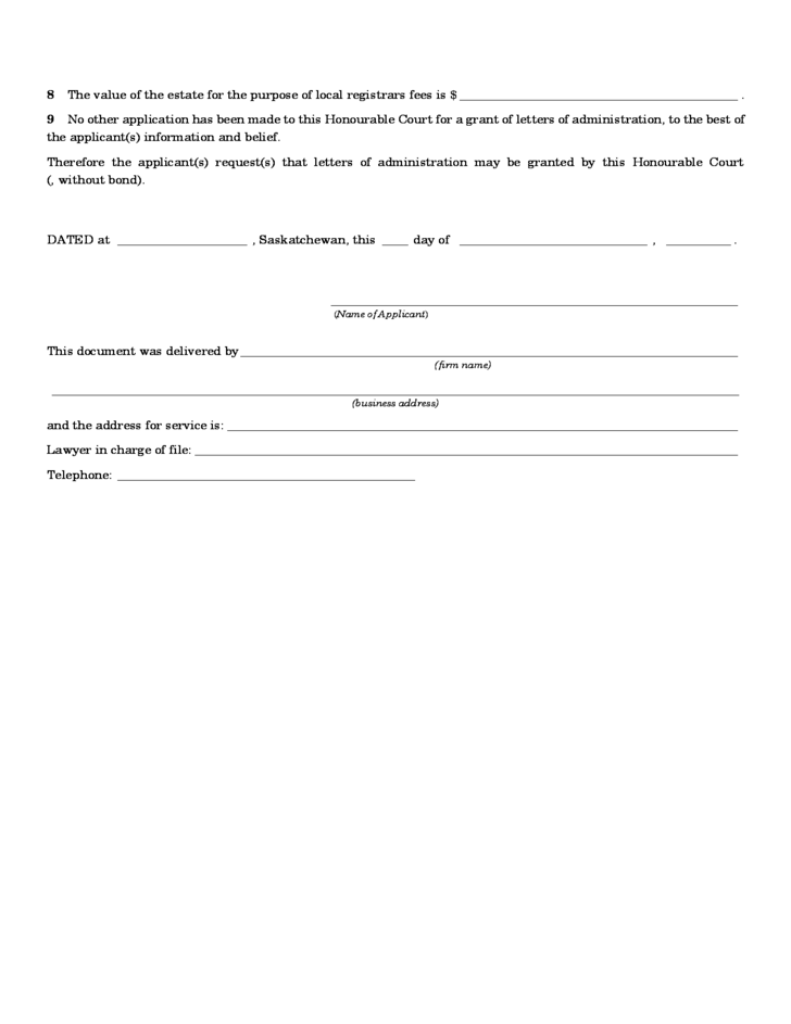 letters of administration application form Letters testamentary in texas are letters issued by a probate court they state that a person has the ability to act on behalf of a decedent's estate, pursuant to the person's last will and testament, says texas attorney david l leon the texas probate code states that when a will has been.