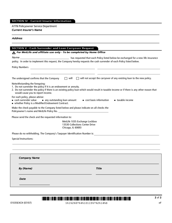 american general life insurance surrender application
