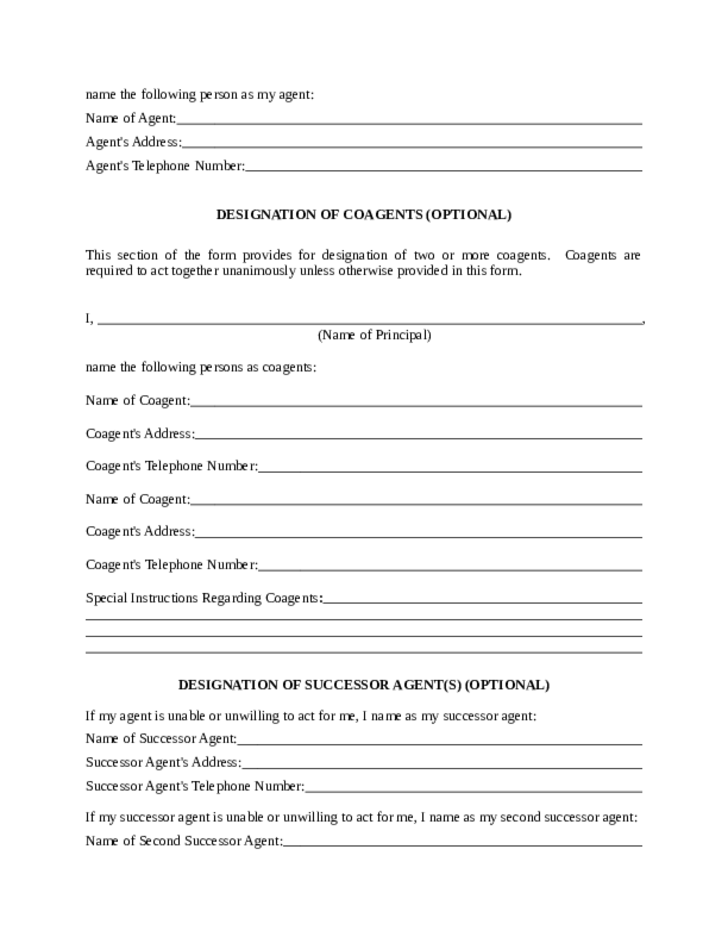 Impertinent image regarding maryland power of attorney form free printable