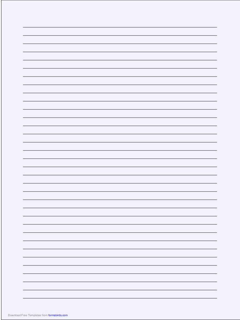 printable a4 lined paper pdf