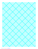 Graph Paper for Quilting with 10 Lines per Inch and Heavy Index Lines