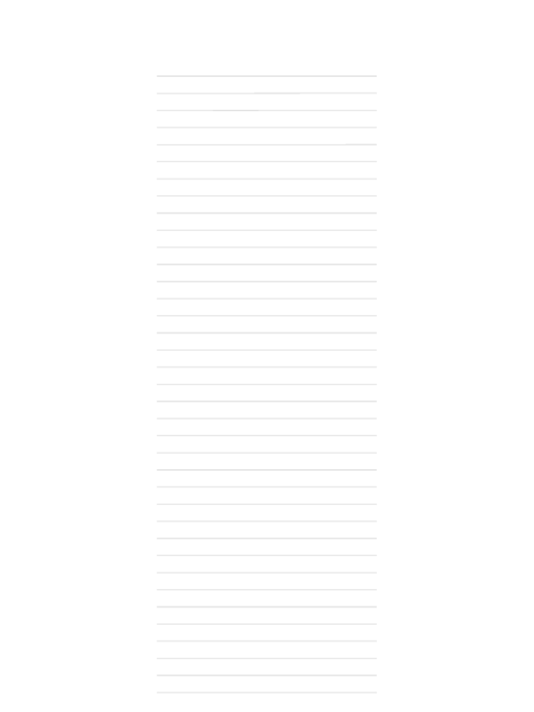 A4 Size Lined Paper Template Free Download