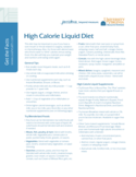 High Calorie Liquid Diet Free Download