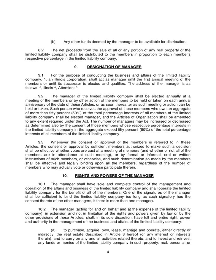 Operating Agreement Example For LLCs Free Download - Limited liability company operating agreement template