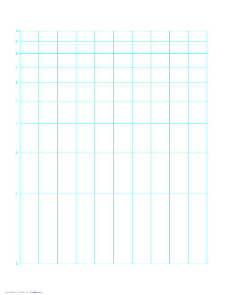 Semi Log Paper With Linear Horizontal Axis And Logarithmic