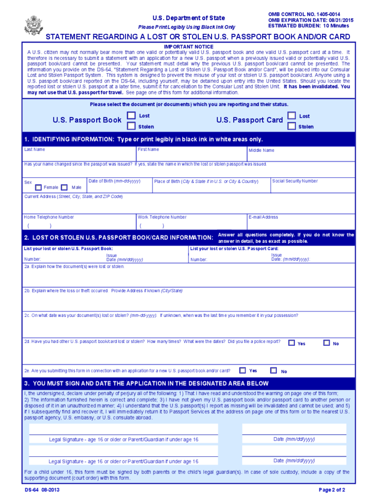 Lost passport form novasatfm lost passport form falaconquin