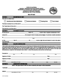 Manufactured Home Bill of Sale Form - California Free Download