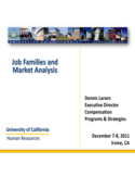 Job Families and Market Analysis Free Download