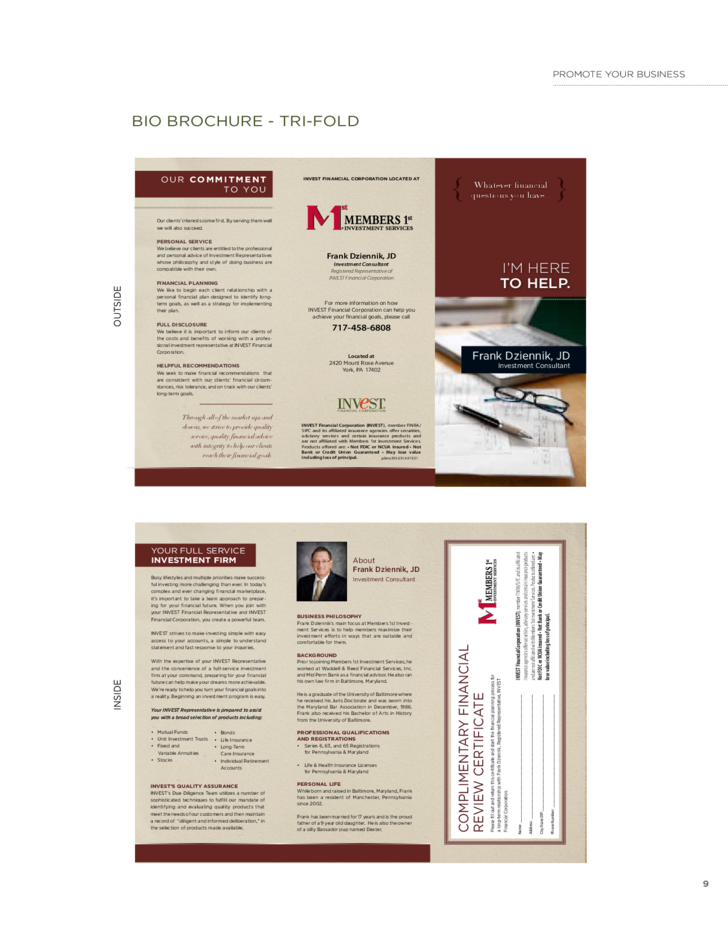Marketing brochure template free download for Marketing brochure template