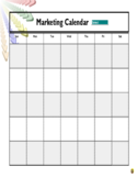 Marketing Calendar Free Download
