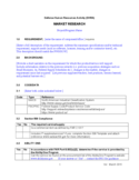 Standard Market Research Template Free Download
