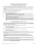 Application for License and Certificate of Marriage - California Free Download