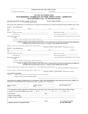 Non-Resident Marriage License or Certificate Application Form - Maryland