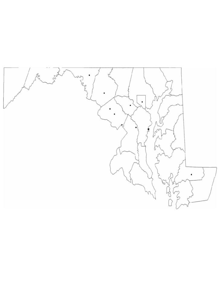Image Result For Free Maryland State Outline Map Resume Resources