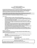 MEDICAL ASSESSMENT FORM For Students with Permanent Disabilities - Nova Scotia Free Download