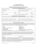 Medical Marijuana Authorization Form - Washington State Free Download