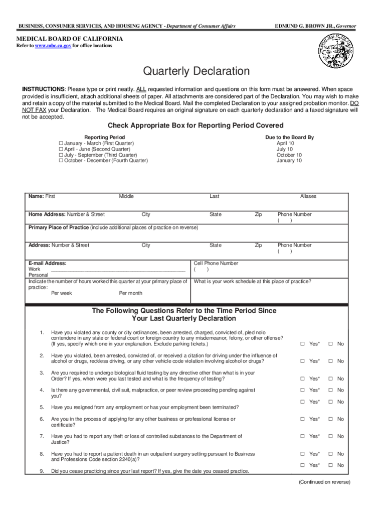 Medical Declaration Form 3 Free Templates In Pdf Word