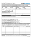 Medical Reimbursement Form - Florida Free Download