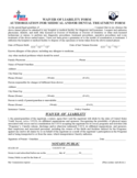 Medical Waiver Form - Ohio Free Download