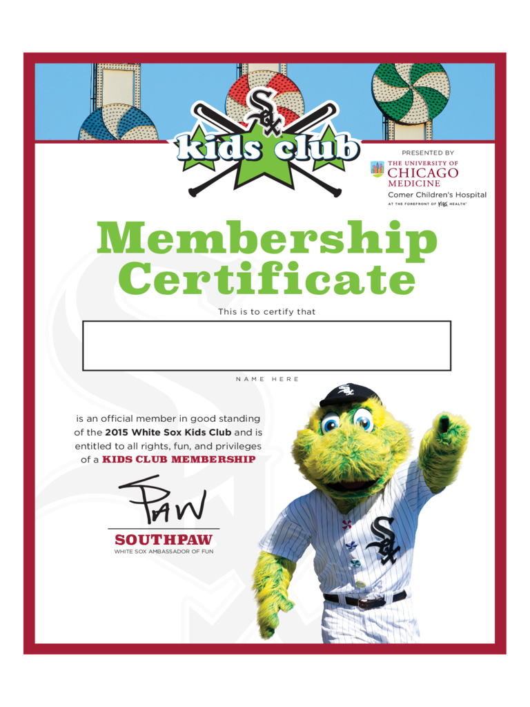 Membership Certificate - 6 Free Templates in PDF, Word, Excel Download
