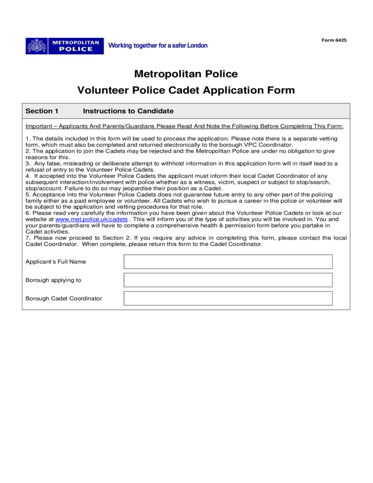 vetting form download