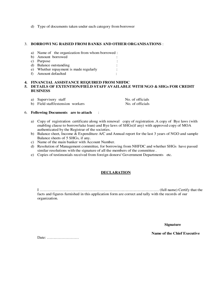 microfinance loan application form pdf