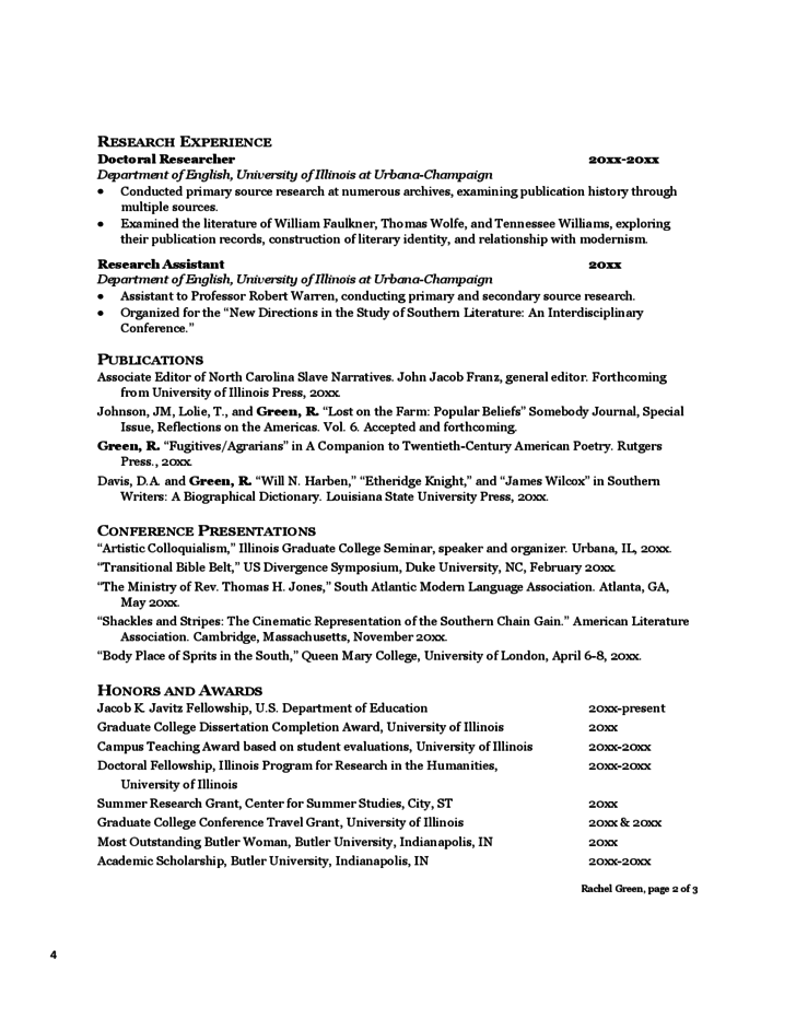 curriculum vitae tips and samples free download