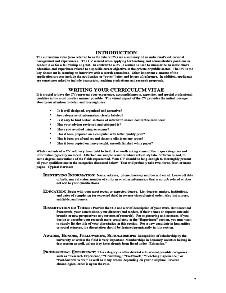 cvs  cover letters  u0026 teaching portfolio free download