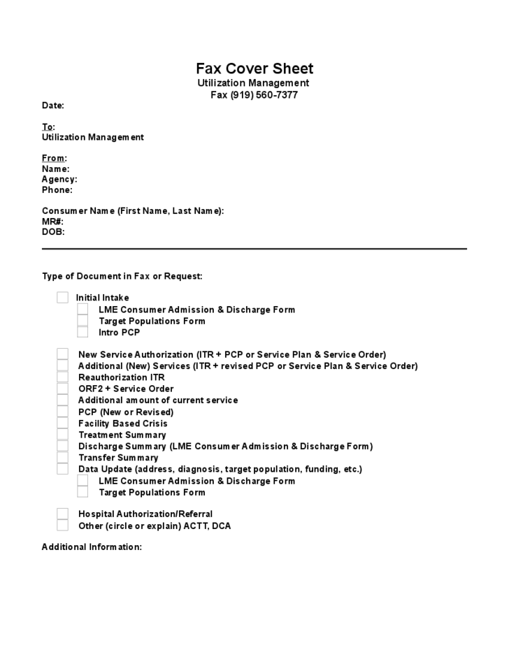 Modern Fax Cover Sheet Sample Free Download