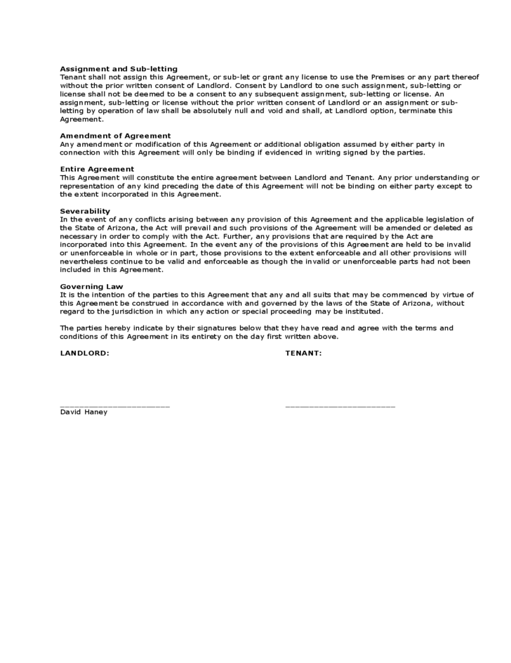 Month To Month Room Rental Agreement Landlord Template Free Download
