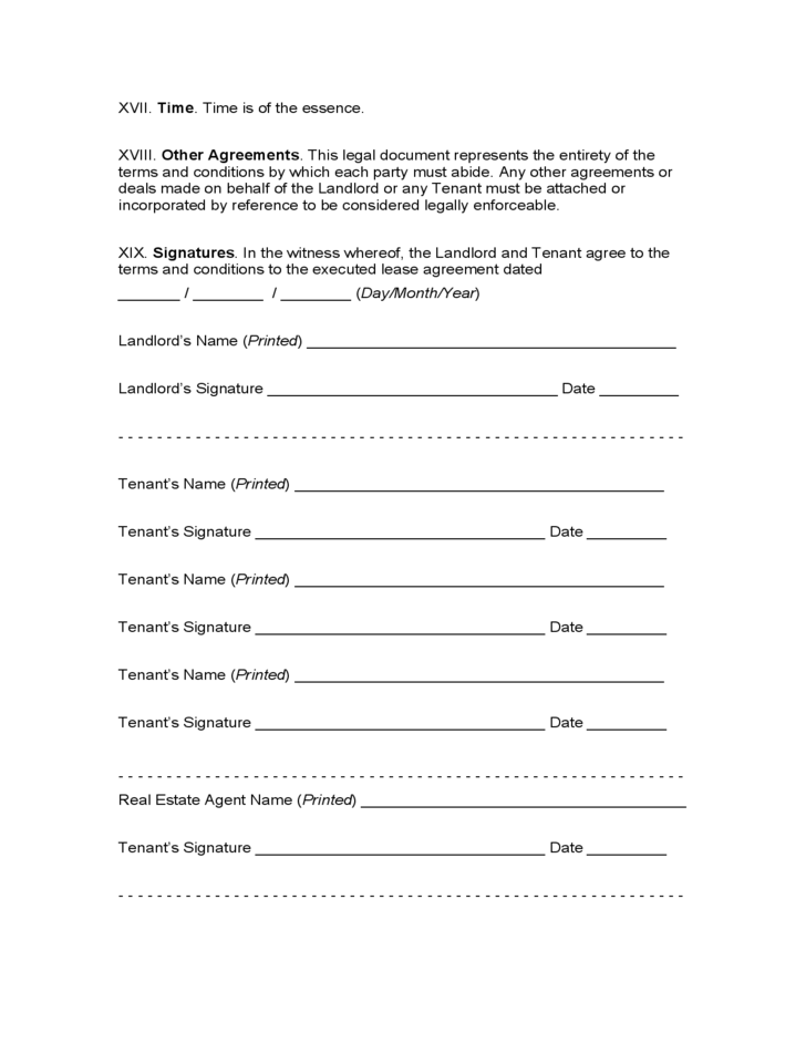 Connecticut Month To Month Lease Agreement Free Download