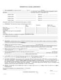 Nevada Month to Month Rental Agreement Form