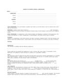 Arizona Monthly Rental Agreement
