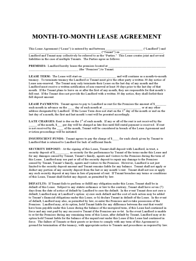 lease agreement illinois pdf  Illinois Rent and Lease Template - Free Templates in PDF, Word ...