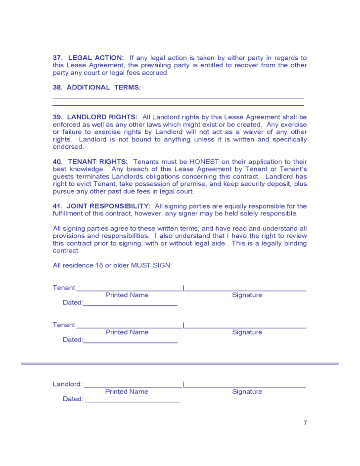 maine monthly rental agreement form free download