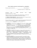 how to begin a cover letter month to month rental agreement form 86 free templates 22255 | west virginia month to month rental agreement m1