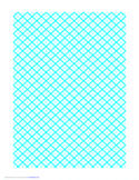Graph Paper for Quilting with 2 Lines and Heavy Index Lines