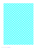 Graph Paper for Quilting with 5 Lines per cm and Heavy Index Lines