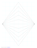 Perspective Grid - 2 Point - Centered