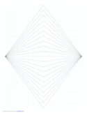 Perspective Grid - 2 Point - Centered - Fine