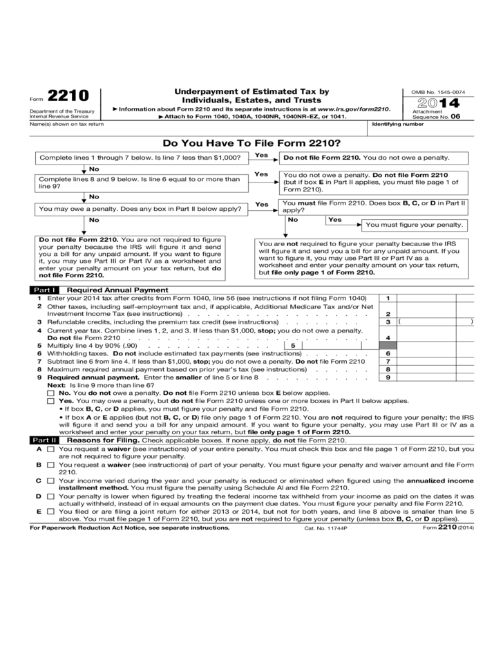 Form Underpayment Of Estimated Tax By Individuals Estates And Trusts L on file resume