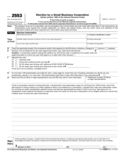 Form 2553 - Election by a Small Business Corporation (2014)