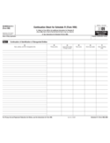 Form 990 (Schedule R-1) - Related Organizations and Unrelated Partnerships Continuation Sheet (2009)