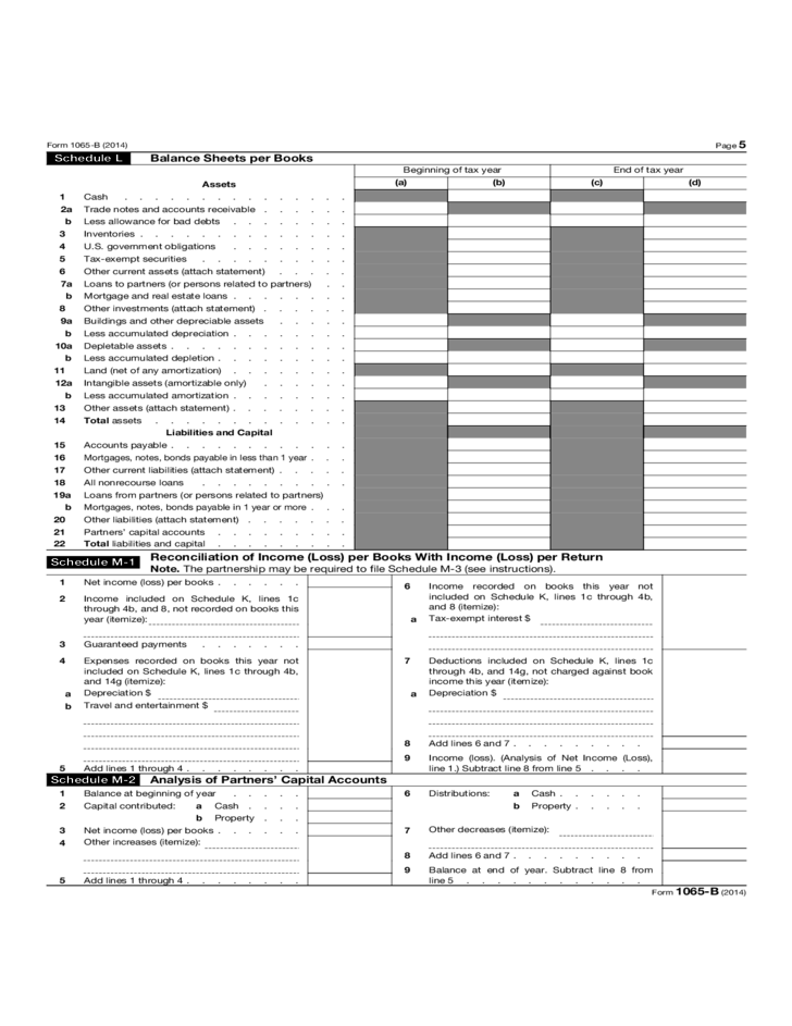 form 1065 excess taxable income  Form 16-B - U.S. Return of Income for Electing Large ...