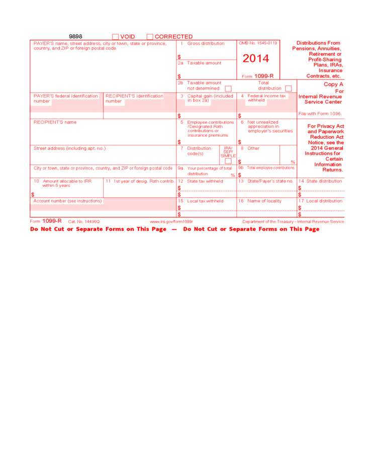 1099 Form 2014 Download Olivero