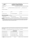 Form 9423 - Collection Appeal Request (2014)