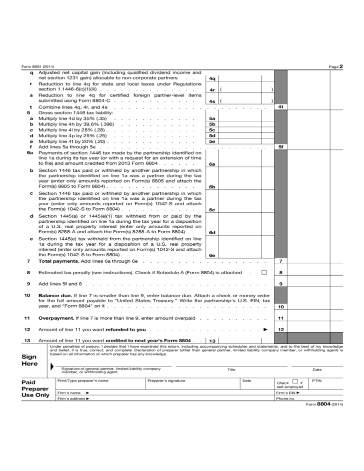 Section 965 Transition Tax