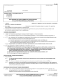 FL-325 Declaration of Court-Connected Child Custody Evaluator Regarding Qualifications
