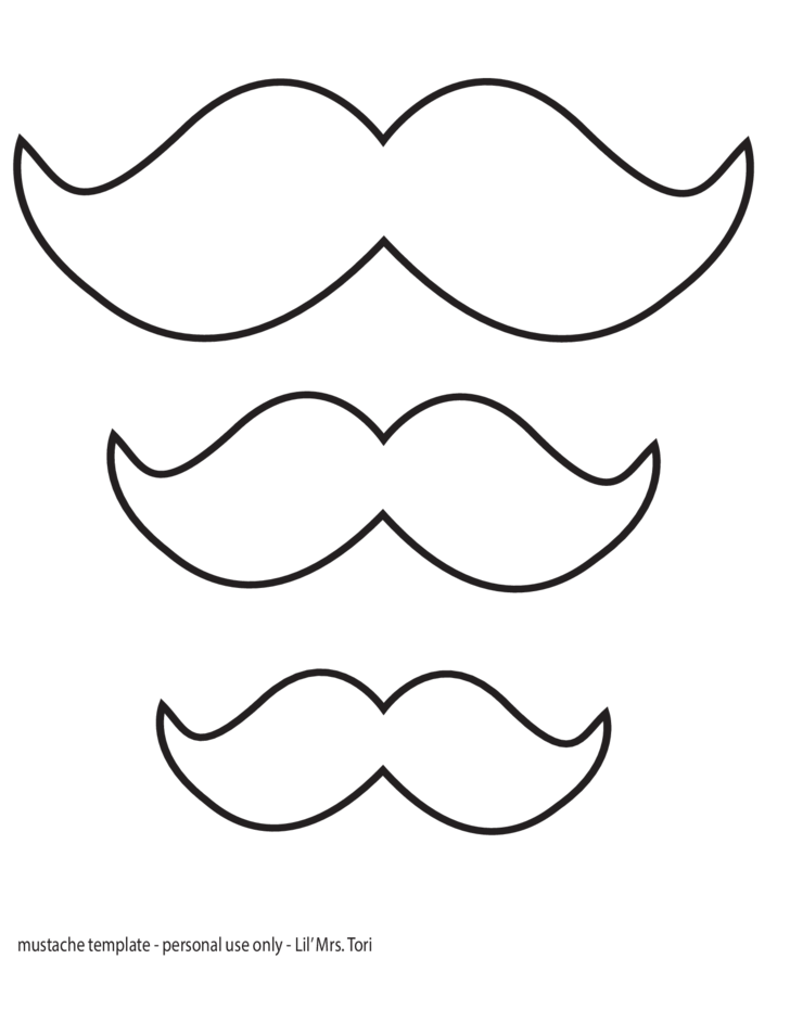 mustache template sample free download